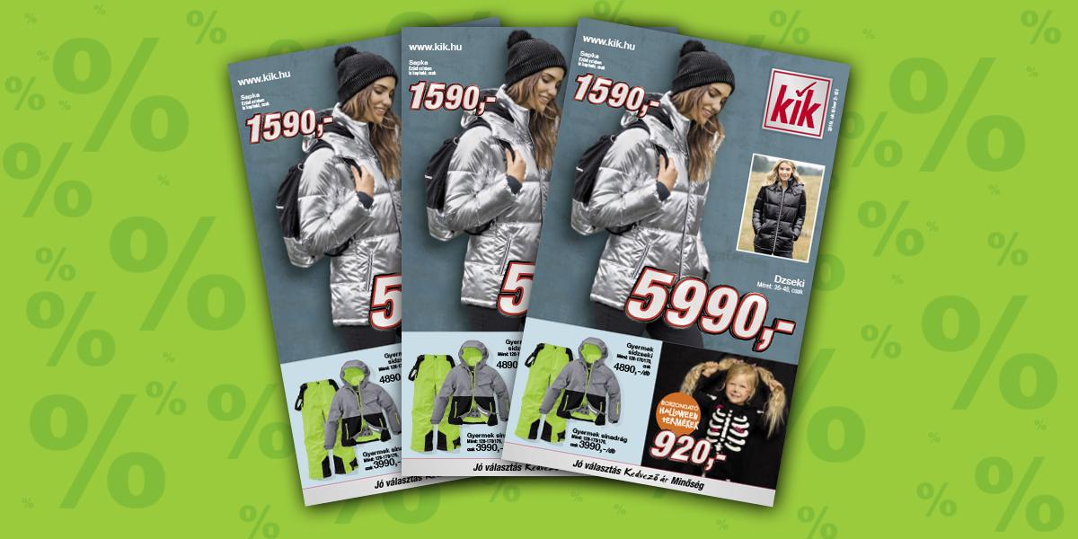 Kik textil akciós újság 2019. 10.02 től Akciós Újság.hu