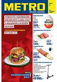 Metro Élelmiszer és Szezonális katalógus 2019. 09.25-10.08