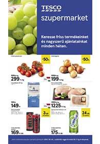 Tesco szupermarket akciós újság 2019. 09.05-09.11
