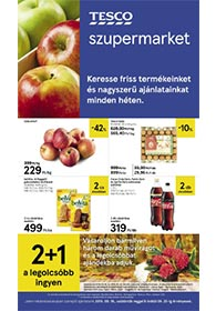 Tesco szupermarket akciós újság 2019. 09.19-09.25