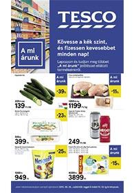 Tesco szupermarket akciós újság 2019. 09.26-10.02