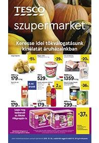 Tesco szupermarket akciós újság 2019. 10.03-10.09