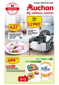 Auchan akciós újság 2019. 10.31-11.06