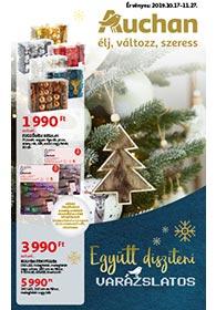 Auchan Karácsonyi Dekoráció 2019. 10.17-10.27
