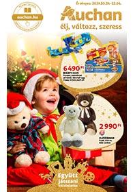 Auchan Játék katalógus 2019. 10.24-12.04