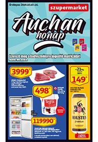 Auchan Szupermarket akciós újság 2019. 10.10-10.16