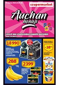 Auchan Szupermarket akciós újság 2019. 10.17-10.22