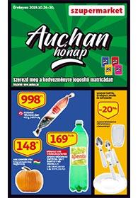 Auchan Szupermarket akciós újság 2019. 10.24-10.30