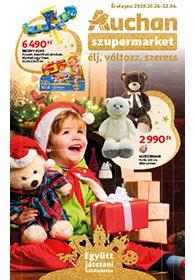 Auchan Szupermarket Játék katalógus 2019. 10.24-12.04