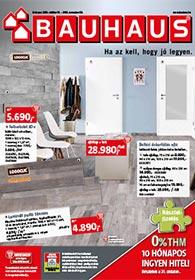 Bauhaus akciós újság 2019. 10.01-11.04