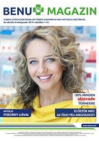 BENU akciós újság 2019. 10.01-10.31