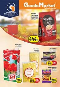 Goods Market akciós újság 2019. 10.21-10.31