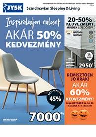 JYSK akciós újság 2019. 10.24-11.06