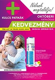 Kulcs patika akciós újság 2019. 10.01-10.31