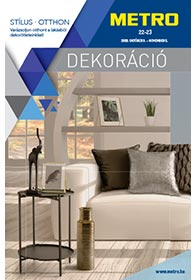 Metro Otthon Dekoráció katalógus 2019. 10.09-11.05