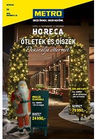 Metro HORECA Díszek katalógus 2019. 10.09-10.22