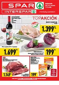 Spar akciós újság 2019. 10.31-11.06