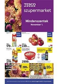 Tesco szupermarket akciós újság 2019. 10.24-10.30