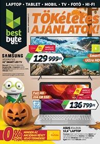 BestByte akciós újság 2019. 11.14-11.27