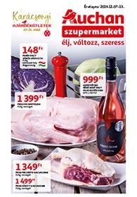 Auchan Szupermarket akciós újság 2019. 11.07-11.13