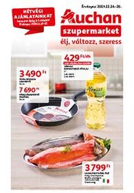 Auchan Szupermarket akciós újság 2019. 11.14-11.20