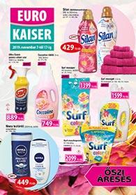 Euro Kaiser akciós újság 2019.11.07-11.17