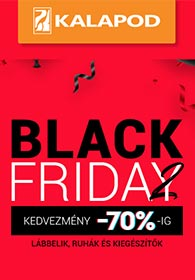 Kalapod.hu Black Friday