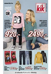 Kik textil akciós újság 2019. 11.13-tól