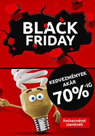 Lámpák.hu Black Friday