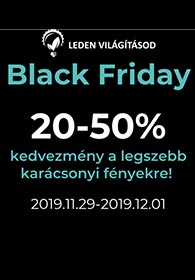 LEDenvilagitasod.hu Black Friday