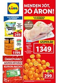 Lidl akciós újság 2019. 11.07-11.13