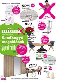 Mömax akciós újság 2019. 11.28-12.11