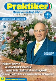 Praktiker akciós újság 2019. 11.28-12.18