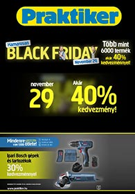 Praktiker BLACK FRIDAY 2019. 11.29.