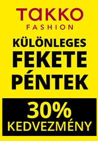 Takko BLACK FRIDAY 2019. 11.29-12.01