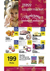 Tesco szupermarket akciós újság 2019. 11.21-11.27