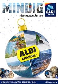 Aldi Utazás katalógus 2019. 12.01-12.31