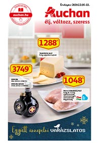 Auchan akciós újság 2019. 12.05-12.11