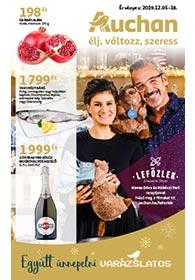 Auchan akciós újság 2019. 12.05-12.18