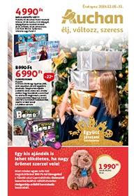 Auchan Játék katalógus 2019. 12.05-12.31