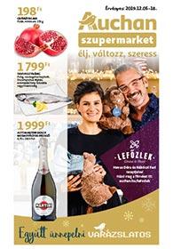 Auchan Szupermarket akciós újság 2019. 12.05-12.18
