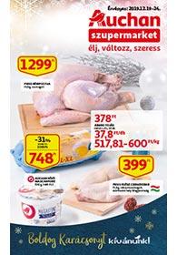 Auchan Szupermarket akciós újság 2019. 12.19-12.24