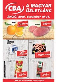 CBA akciós újság 2019. 12.19-12.31