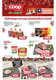 Coop Akciós Újság 2019. 12.04-12.10