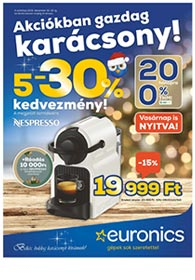 Euronics akciós újság 2019. 12.10-12.16