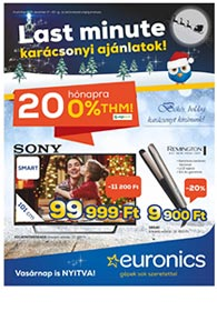 Euronics akciós újság 2019. 12.17-12.23