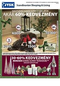 JYSK akciós újság 2019. 12.12-12.24