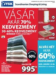 JYSK akciós újság 2019. 12.27 - 2020. 01.15