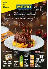Metro Élelmiszer és Szezonális katalógus 2019. 12.04-12.17