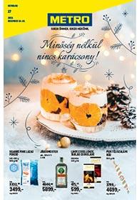 Metro Élelmiszer és Szezonális katalógus 2019. 12.18-12.31